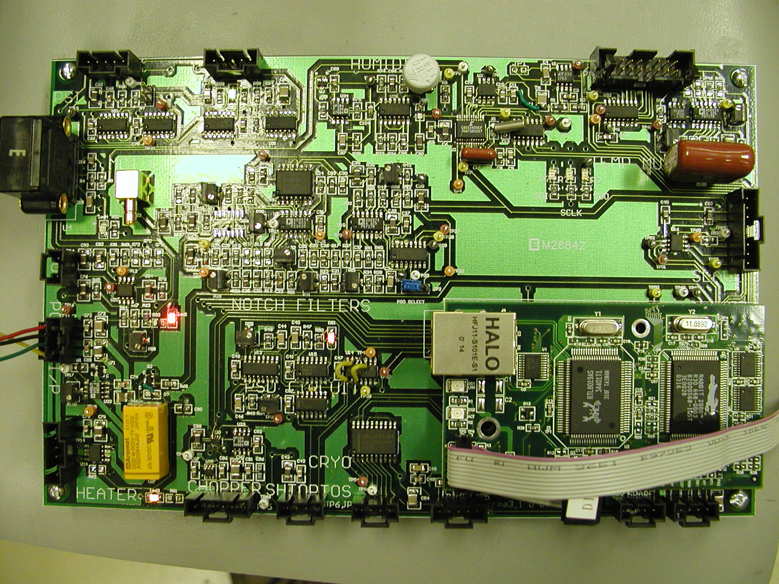 Blue Sky Spectroscopy Inc Electronics Design And Integration Electronic Circuit Integrated Data Acquisition Control