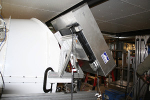 Blue Sky FTS installed on South Pole Telescope